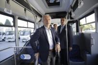 TOPLU TAŞIMA ARACI - Başkan Kamil Saraçoğlu, 'Yeni Nesil Toplu Taşıma Araçları'nı İnceledi