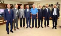 İL BAŞKANLARI - Başkan Karaosmaoğlu İl  Başkanlarını Ağırladı