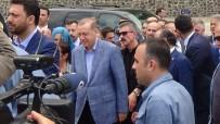 Cumhurbaşkanı Erdoğan'dan, Sarp Sınır Kapısı'nda İnceleme