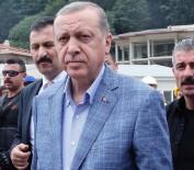 SARP SINIR KAPISI - Erdoğan Sarp Sınır Kapısında İnceleme Yaptı