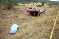 İMRENLER - Hastane Yolunda Kaza Açıklaması 3 Kardeş Hayatını Kaybetti, 1 Kişi Yaralandı