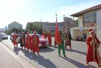 MEHTER TAKIMI - Kırşehirli Damat, Mehter Takımıyla Gelin Almaya Gitti