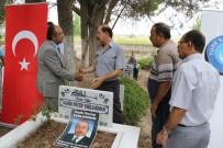 TÜRK EĞITIM SEN - Merhum Başkan Varlıakman Mezarı Başında Anıldı