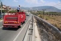 ONARIM ÇALIŞMASI - Milas'ta Yangın Elektrik Tellerine Zarar Verdi