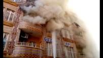 SELAHADDIN EYYUBI - Nusaybin'de Korkutan Yangın