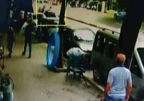 KARAKÖY - Ortalığı Birbirine Katan Alkollü Sürücüye Dayak Kamerada