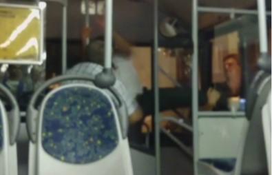 Otobüs şoförü böyle darp edildi