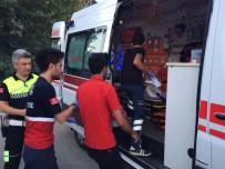 ELEKTRİKLİ BİSİKLET - Otomobille Elektrikli Bisiklet Çarpıştı Açıklaması 1 Yaralı