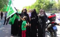 GRUP GENÇ - Pedal Çevirerek İsrail'e Tepki Gösterdiler