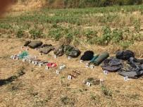 PKK'lıların Sırt Çantalarında Çok Sayıda Mühimmat Ele Geçirildi