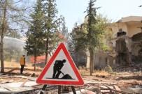DEPREM RİSKİ - Şanlıurfa'da Deprem Riski Bulunan 300 Konut Yıkılıyor