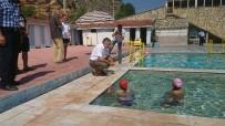 KADIR BOZKURT - Şifalı Doğal Kaynak Suyunda Yüzme Kursu