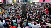 ROCK - Times Meydanına Turist Akını