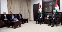 KRAL ABDULLAH - Ürdün Kralı Abdullah Ve Filistin Devlet Başkanı Abbas Bir Araya Geldi