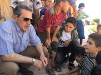 NACI KALKANCı - Vali Kalkancı Suriyeli Misafirleri Dinledi