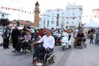 Yozgat'ta Engelliler Akülü Araçlarıyla Yarıştı