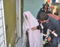GÖRGÜ TANIĞI - Ankara'da Vahşet ! Karısını Çocuklarının Gözü Önünde Yaktı