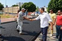 İMAR PLANI - Başkan Uysal'dan Asfalt Denetimi
