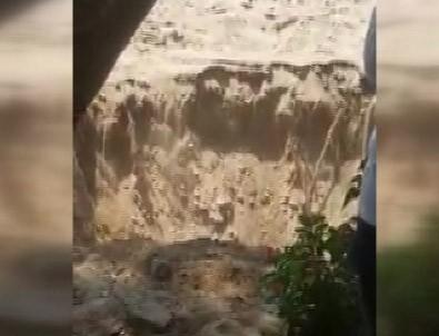 Bodrum'daki deprem anı kamerada