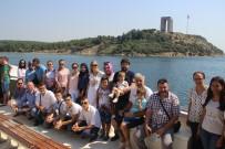 BOĞAZ TURU - Bosna Hersek'ten Çanakkale'ye Dostluk Ziyareti