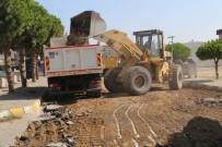 YOL YAPIMI - Burhaniye'de Belediye Asfalt Yol Yapımına Başladı
