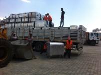 ÇÖP KONTEYNERİ - Çaldıran Belediyesi 650 Adet Çöp Konteyneri Aldı