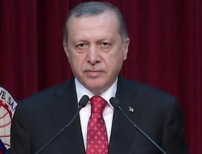 Cumhurbaşkanı Erdoğan'dan terörle mücadele açıklaması