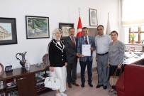 VERGİ DAİRESİ - Defterdarlıktan Başkan Ahmet Atam'a Teşekkür Belgesi