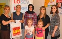 İNTERNET BANKACILIĞI - Eskişehir'de Yaşayan LÖSEV'e Kayıtlı Hastalara Kırmızı Et Ve Et Ürünleri Yardımı