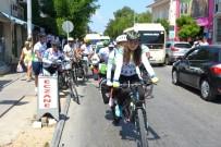 KÜÇÜKKÖY - Görme Engelli Bisikletlilerin Azmi Parmak Isırttı