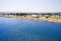 ÇEVRE İL MÜDÜRLÜĞÜ - İzmir Körfezinde İlk Mavi Bayrak Törenle Göndere Çekildi