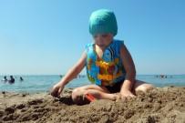 KONAKLı - Konaklı Çocuklar Tatilde Bol Bol Yüzüyor