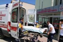 Konya'da Otomobil Şarampole Devrildi Açıklaması 4  Yaralı
