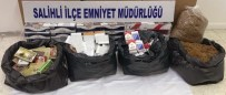 SAHTE İÇKİ - Manisa'da Kaçak İçki Ve Sigara Operasyonu