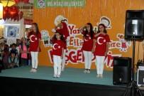İŞARET DİLİ - Melikgazi Belediyesi Yaz Okulu Sergisi Meysu Outlet'te Açıldı