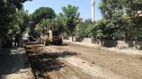 Osmancık'ta Alt Yapısı Tamamlanan Caddeler Asfaltlanıyor