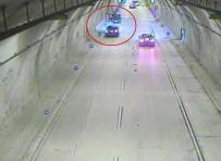 TRAFİK ÖNLEMİ - Sarıyer Tüneli'nde Akılalmaz Kaza
