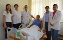 ALAADDIN KEYKUBAT - Rus Uyruklu Kadın Ameliyat İçin Alanya'yı Tercih Etti