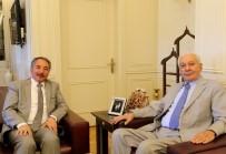 Sağlık Eski Bakanı Eryılmaz'dan Rektör Karabulut'a Ziyaret
