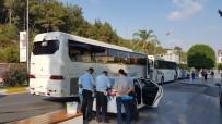 MOTORLU TAŞITLAR VERGİSİ - Sahte Plaka Kullanan 2 Servis Aracı Trafikten Men Edildi