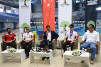 ŞEHITKAMIL BELEDIYESI - Şampiyon Sporcu Basının Karşısına Çıktı