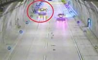 MASLAK - Sarıyer Tüneli'nde Akılalmaz Kaza