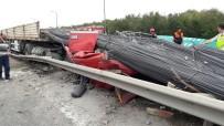 TEM OTOYOLU - TEM'de feci kaza: 1 ölü