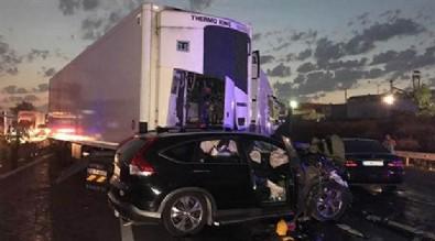 TEM'de TIR dehşeti: 6 ölü, 3 yaralı