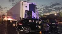 İSVEÇ - TEM'de TIR dehşeti: 6 ölü, 3 yaralı