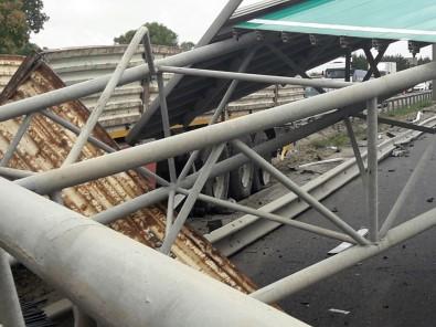 TEM Otoyolu'nda tır kazası: 1 ölü
