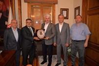 AK Parti Bursa Milletvekili Şahin Ve Başkan Yağcı Bir Araya Geldi