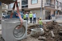 SU TAŞKINI - Akhisar'da 2 Bin 700 Metrelik Yağmur Suyu Hattı
