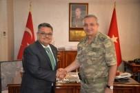 Başkan Yağcı'dan Yeni Tugay Komutanı Yücel'e Ziyaret