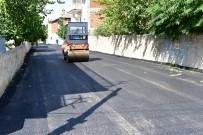 TANDOĞAN - Battalgazi'de Sıcak Asfalt Çalışmaları Sürüyor